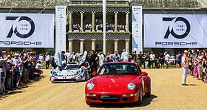 70 th Porsche Goodwood Festival of Speed