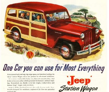Jeep Station Wagon  de 1946