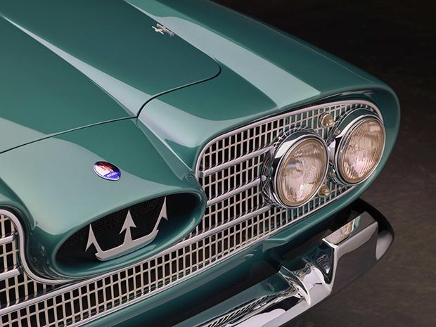 Maserati 5000 GT, un prestigioso coupé 2 + 2 de 1959