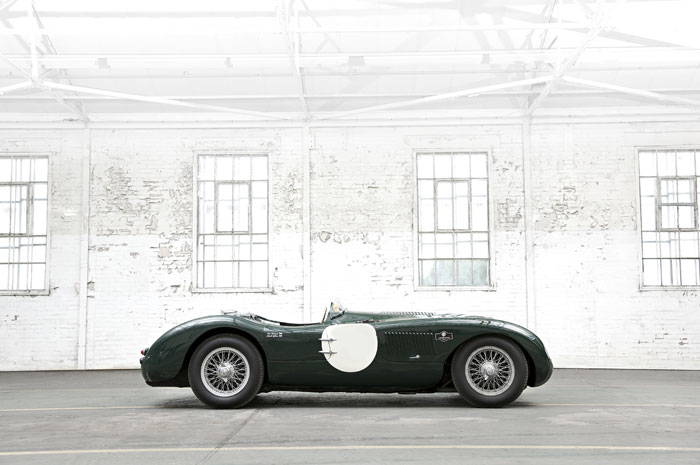Jaguar race car