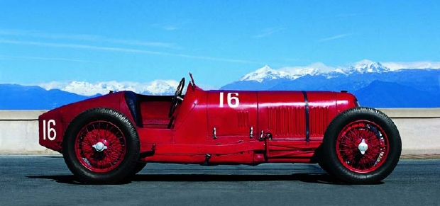Maserati - Race Car antiguo