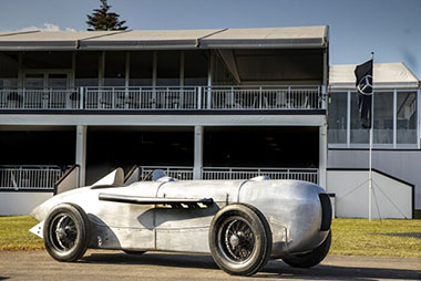 Mercedes-Benz SSKL streamlined racing car 1932