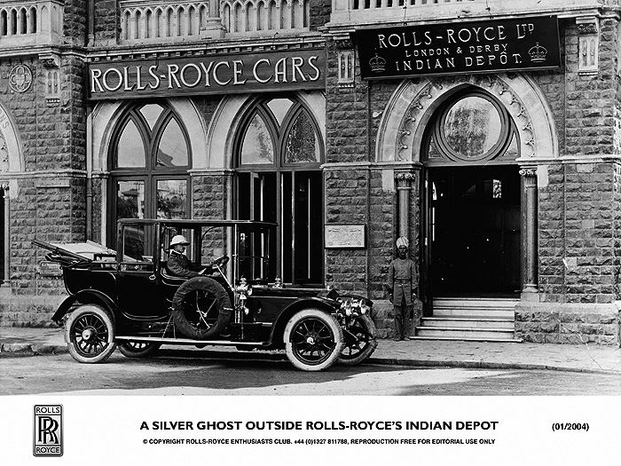 Silver Ghost Rolls Royce indian