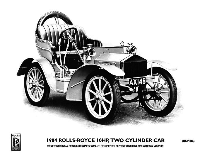 1904 Rolls Royce Antiguo