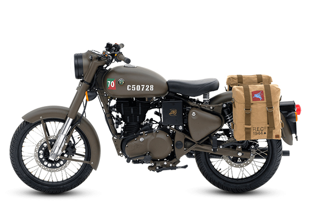Royal Enfield 500 Pegasus Limited Edition 2018