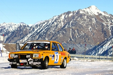 Andorra Winter Rally, Rally coches clásicos