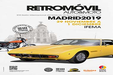 Retromóvil Madrid 2020Poster