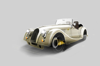 Morgan Plus4 - 70 aniversario