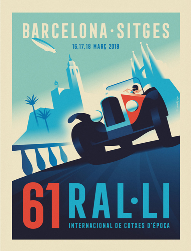 Poster Rally Barcelona Sitges 2019
