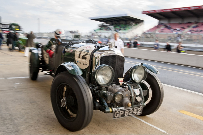 Race Cars - Derek Bell y Bentley